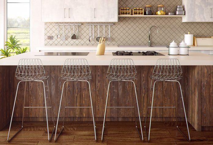 Sgabelli cucina: come sceglierli in base a materiale misure e comfort