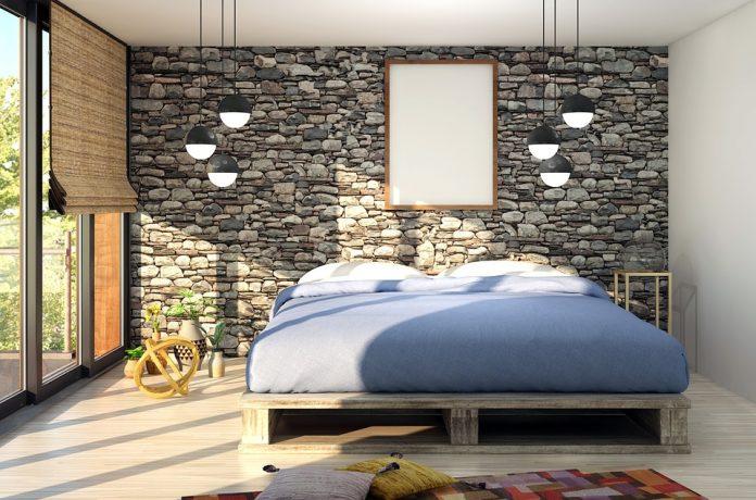 Carta da parati moderna: tante idee per una camera da letto ...