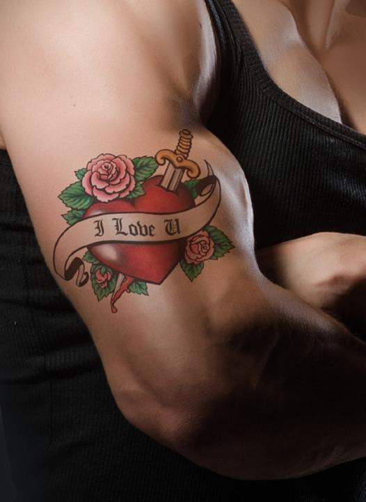 tatuaggi che rappresentano la perdita di peso